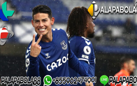 James Rodriguez On Fire Sama Everton